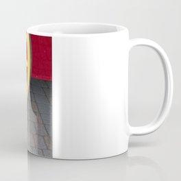 Red and Yellow Plain and Simple Coffee Mug