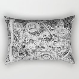 Inner Workings Rectangular Pillow