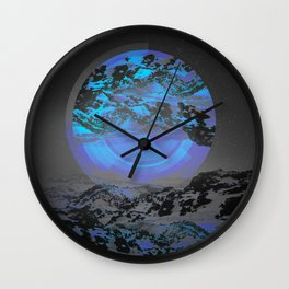 Neither Up Nor Down Wall Clock