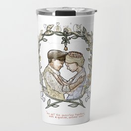 """Illustration from the video of the song by Wilder Adkins, """"When I'm Married"""" (no names on it) Travel Mug"""