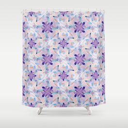 Jess Abstract Painting Shower Curtain