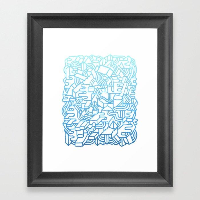 Wave Machine Framed Art Print