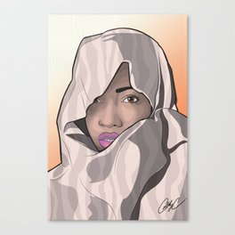 Chicks and Head Wraps 4 Canvas Print