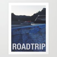 Roadtrip Art Print
