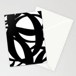 Hidden Letters. Baskerville Q Stationery Cards
