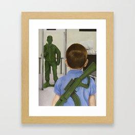 Crisis Averted Framed Art Print