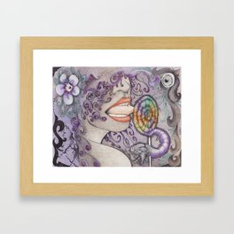 Loly Framed Art Print