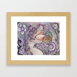 Loly Framed Art Print