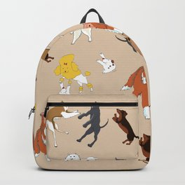 Dancing dogs Backpack