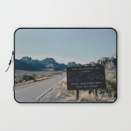 Chisos Country Laptop Sleeve