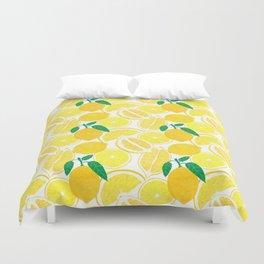 Lemon Harvest Duvet Cover