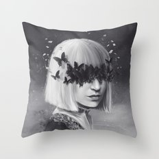 100 Forms of Fear / Sia Throw Pillow