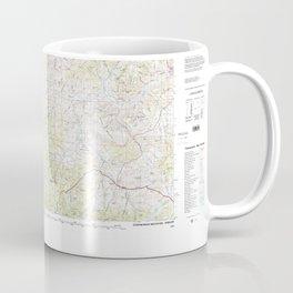 OR Stephenson Mountain 463406 1981 topographic map Coffee Mug