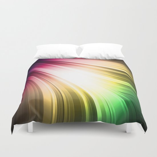 Spectrum Duvet Cover