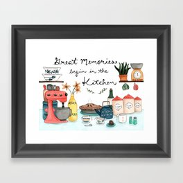 Great Memories Framed Art Print