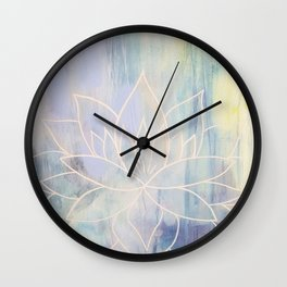 Tranquil Heart Wall Clock