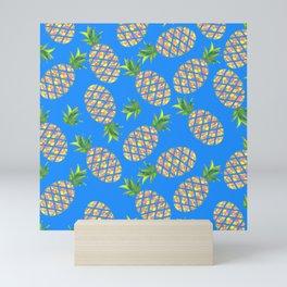 Tropical Pineapple Sunrise Mini Art Print