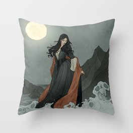 Annabel Lee Throw Pillow