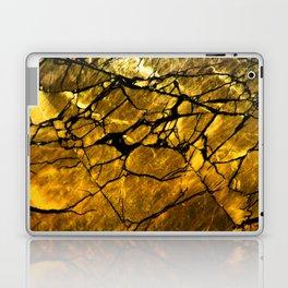 Gold Labradorite Crystal Laptop & iPad Skin