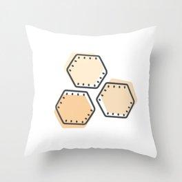 Oyster Cracker Throw Pillow
