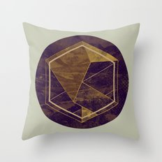 Thinking of a Foreign Girl Throw Pillow