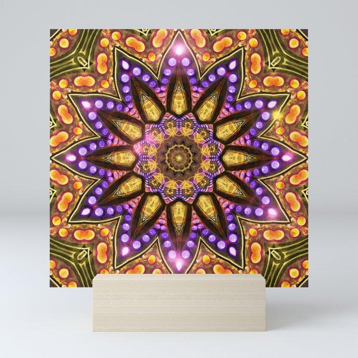 Bohemian Sun Mini Art Print