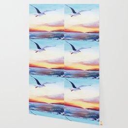 SEAGULL       by Kay Lipton Wallpaper