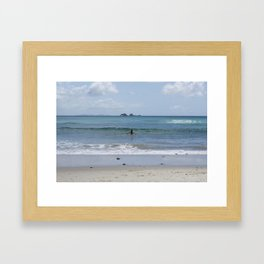 Byron Bay Bliss Framed Art Print