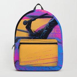 On Edge -  Stunt Scooter Artwork Backpack