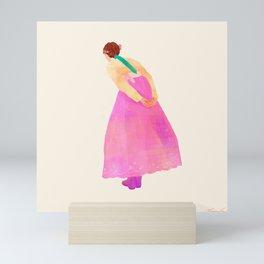 Peek Mini Art Print