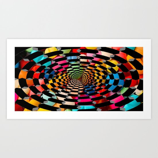 Sugar Drug 2 Art Print