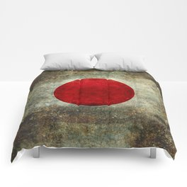 The national flag of Japan Comforters