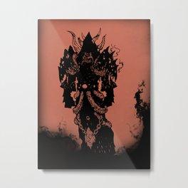 Warcraft: Warlock Hellfire Metal Print