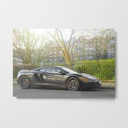 McLaren 12C Metal Print