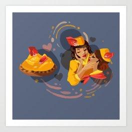 Mango Passion Art Print