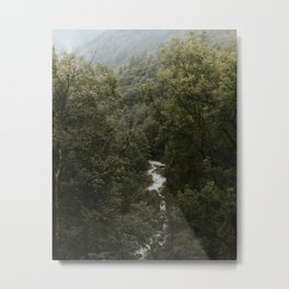 Forest Valley River - Landscape Photography Metal Print