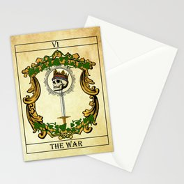 Tarot - The war Stationery Cards