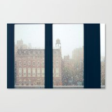 And On The Sixth Day, It Snowed Canvas Print