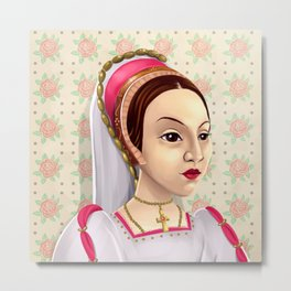 Catherine Howard, Katherine Howard, British Royalty, Monarch Metal Print