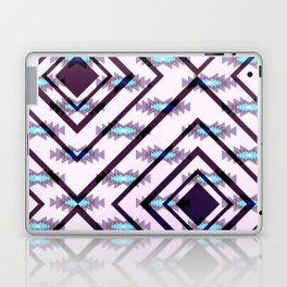 Ultraviolet ethnic pattern Laptop & iPad Skin