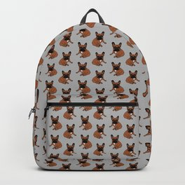 Red Fawn Frenchie Backpack