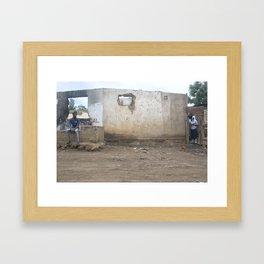 Africa Shape Wall (Arusha, Tanzania)  Framed Art Print