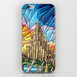Asgard stained glass style iPhone Skin