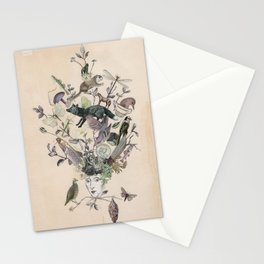 Silver Fox Stationery Cards
