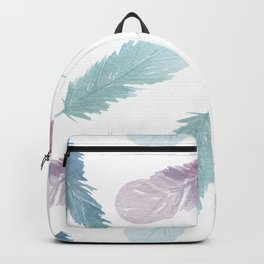 PRETTY WATERCOLOR BOHO FEATHERS FACE MASK PHONE CASE PASTEL DREAM CATCHER ARROWS RAINBOW Backpack