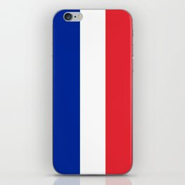 Flag of France, HQ image iPhone Skin