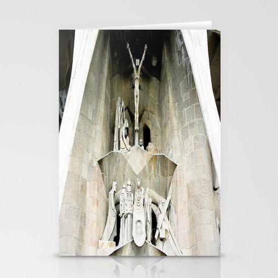 Gaudi's Calvary Stationery Cards