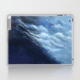 Children's book Cloud Woman print Laptop & iPad Skin