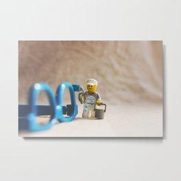 Painter Metal Print