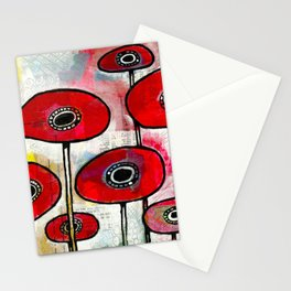 Poppies #4 Stationery Cards
